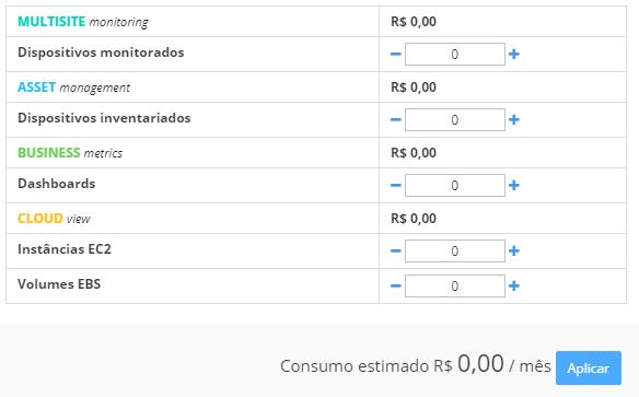 Tabela preços